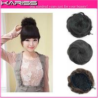 5 colors Hot large hair bun Curly Chignon blonde clip in Bun Hair Roller Hairpiece Hair chignon bun Free shipping