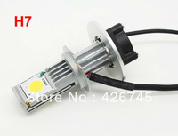 High Lumen High Power Cree Chip H7 LED Headlight 1800LM/bulb 3600LM/set