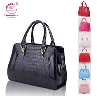 Light 2014 women's handbag female bags new arrival crocodile pattern handbag messenger bag