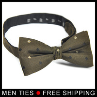 High Quality Brand New Design 2014 Men's Bow tie Male Bowtie necktie Butterfly tie for man Adjustable Free shipping