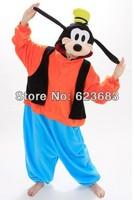 Festival Carnival Novelty Animal Anime Goofy dog Autumn & winter hooded pajamas,unisex Halloween party Cosplay Costume