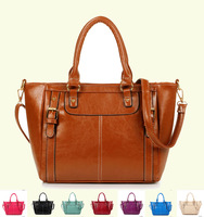 Bags 2014 PU soft women's shoulder bag fashion handbag casual fashionable women's cross-body handbag