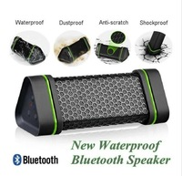 2014Latest Portable Wireless Bluetooth Speaker Stereo audio sound Outdoor Waterproof Shockproof speaker for iphone 4 5 iPod, car