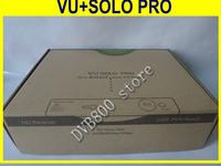 2pcs a lot VU+SOLO PRO tuner dvb S2 satellite tv receiver mini vu solo with last  BCM7325 support blackhole2.0.9 and openpli 4.0