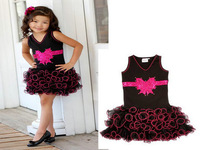 EuropeStyle new 2014 summer fashion casual baby girls dress princess sleeveless mini high quanlity kids clothes free shipping