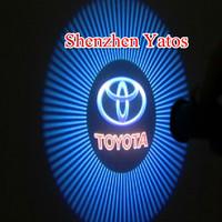 Toyota Highlander Prius Vios Car Logo Door Light LED Welcome Projector Lamp Bulb 4th Generation