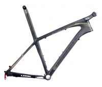 Matt carbon mountain mtb bike frame look 986 e-post carbon mtb frameset with stem free shipping wilier/time/bmc/colnago bike