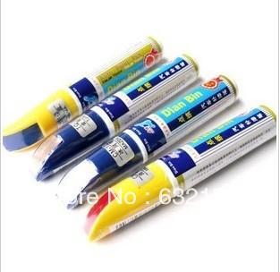 Free shipping Dedicated car up painting automotive paint pen car scratch paint repair pen pen 1200 kinds of colors(China (Mainland))