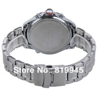 Free shipping Curren Water Resist Men Quartz Watch Analog Indicate with Calendar and Round Dial Steel Watch Band