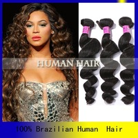 Free shipping 5 bundles a loot loose curl best virgin hair companies having