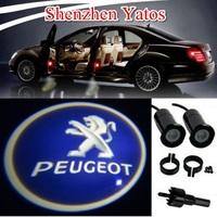Hot Sale 4th Generation Peugeot Car Door Laser Lamp Welcome Logo Light Projector Bulb