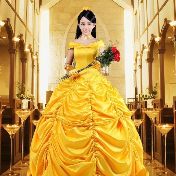Imagenes vestido de la bella y la bestia - Imagui