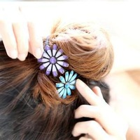 $10 free shipping Hair han edition retro Daisy hair bands hair rope tire headdress flower accessories