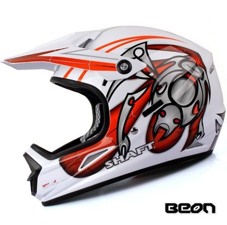 New version Beon B14 motocross helmet bright black orange helmet full face helmet bicycle helmet(China (Mainland))