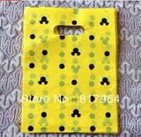 Free shipping plastic gift bags ,Plastic bags 20*25CM  can customized 300PCS MOQ