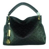 women's artsy handbag shoulder bag tote bags black leather bags black free shipping