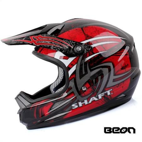 New version Beon B14 motocross helmet bright black helmets full face helmet bicycle helmet(China (Mainland))