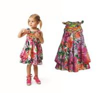 girl flower dress sleeveless sundress baby girls dress children clothing