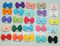 """50 Pcs/lot 2.5"""" Bbay Hair Accessories Hair Clip,Boutique Hair Bow With Clip For Kids,Girl's Ribbon Bow CNHBW-14022203"""