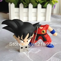 Free shipping Wholesale pen drive cartoon WuKong 2gb-64gb bulk Dragon Ball usb flash drive flash memory  stick pendrive gift