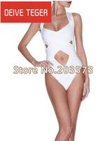 Free Shipping New arrival  Region Bandage Swimsuit HL  Beachwear Swimwear Bikini white swimsuit  HL942