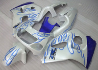 7gifts For SUZUKI GSX-R600 96 97 GSX R600 96-00 GSXR 600 98 99 00 GSXR600 96 1996 1997 1998 1999 2000 Blue FLAME Fairing