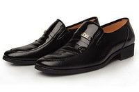 Free Shipping  2012 men's Genuine leather shoes / business casual shoes/ fashion trends