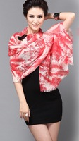 fashion woman 100% wool cashmere scarf Girl's Shawl Wrap   Stole Lady Neckerchief S05026
