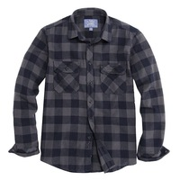 2014 new style, men's flannel checkerboard palid double bag casual long-sleeve shirt  ,free shipping hot sales,drop shipping