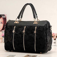 2014 Fashion Women's Lace Handbag Vintage Shoulder Bags New Messenger Bag Female Totes Cross Body Lady Bag %^