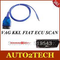 2014 New Arrival VAG KKL FIAT ECU SCAN high quality VAG KKL tool +fiat ecu scan Free Shipping
