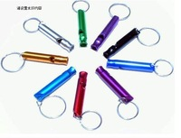 wholesale Classic 3D Whistle key ring key fob metal key chain  Lots