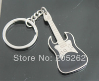 Classic Guitar key ring key fob metal key chain  Lots