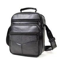 High class Leather Men Messenger Bag