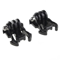 10x Buckle Basic Strap Mount Clips For GoPro Hero HD 1 2 3 Camcorder Camera Black Free Shipping