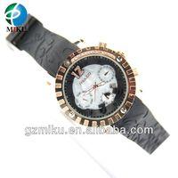 2014 (20pcs/lot) Factory Wholesale Unisex USA DHL/EMS Cameo Raised Nice Back Relojes De Moda Mulco Men Watch 13 Colors Calendar