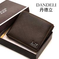 Min Order $20 (mixed order) Design mens cowhide short wallet commercial men's wallet hot-selling 2014 (BH)