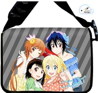 2014 NEW Style Nisekoi  Anime surrounding canvas shoulder bag  Inclined shoulder bag chool bag