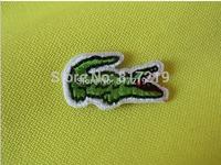 iron on patch patchs Crocodile Alligator  Applique Badge (30pcs a lot) badges good quality