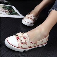 fashion direct selling flats casual canvas shoes mix color classic set foot secti espadrilles sneakers for women's new 2014