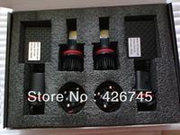 Free Shipping High Quality High Lumen 3600LM/set 9007 Cree Chip LED Headlight Set 50W/Set