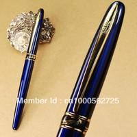 CROCODILE 215 cayman mouth F nib blue fountain pen