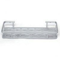 Free Shipping Luxury Aluminium Bathroom Shelves Shampoo & Soap Holder Wall Mounted at Corner