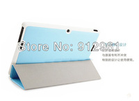 New Fashion! Folio PU Leather Case Stand Protective Cover For Asus Tablet Memo Pad FHD 10 ME302C +Stylus+Screen Protector