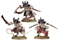 New 40K Models Tyranid Warriors 40K Resin Models Free Shipping