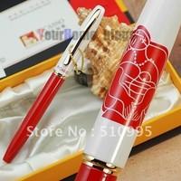 PICASSO 968 red and white M nib fountain pen dream