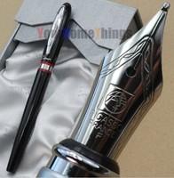 Picasso 907 black and silver B Nib Fountain Pens Free Shipping