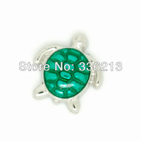 Floating Locket Charms, Turtle, Fit Floating Lockets