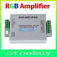 RGB AMPLIFIER Controller Signal Amplifier(Aluminum Case) 12A For 3528SMD 5050SMD RGB LED Strip Light