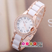 Fashion ladies watch bracelet watch bracelet watch fashion table women's watch ladies watch rhinestone